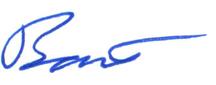 Bart's Signature