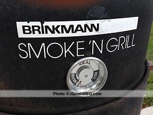 Guage on Brinkmann Smoke 'N Grill Bullet-Style Smoker