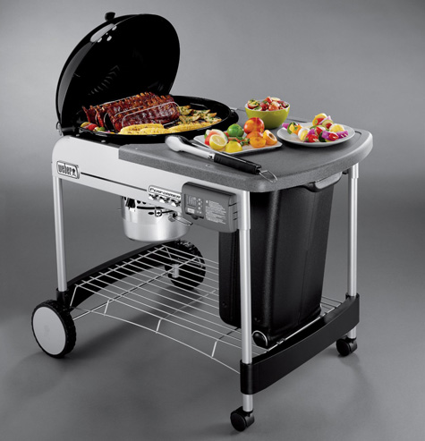 Proven Weber Performance - Platinum Charcoal Grills