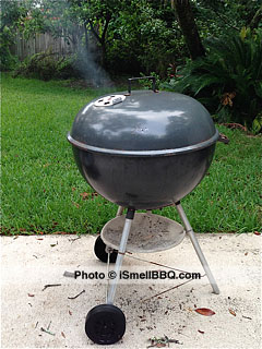 Let the magic begin, in your Weber grill