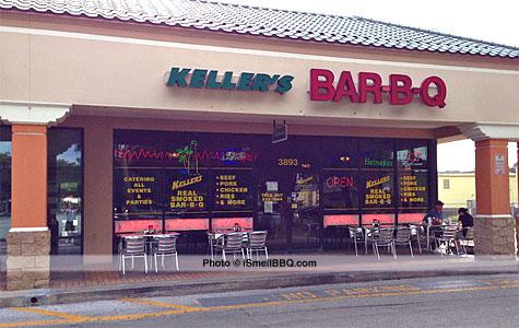 Keller's Real Smoked Bar-B-Q, Lake Mary, Florida Location
