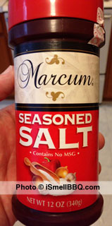 Seasoned Salt with no MSG